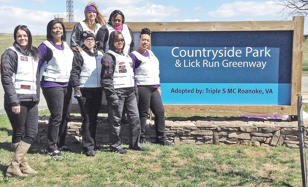 Representatives: Sophisticated Sistas with Style Motorcycle Club.