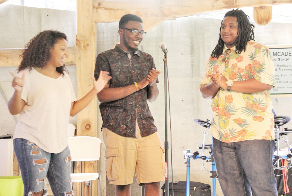 YO-YO Players: Ishmel Paige, Javonte McNear and Donald Crenshaw perform.