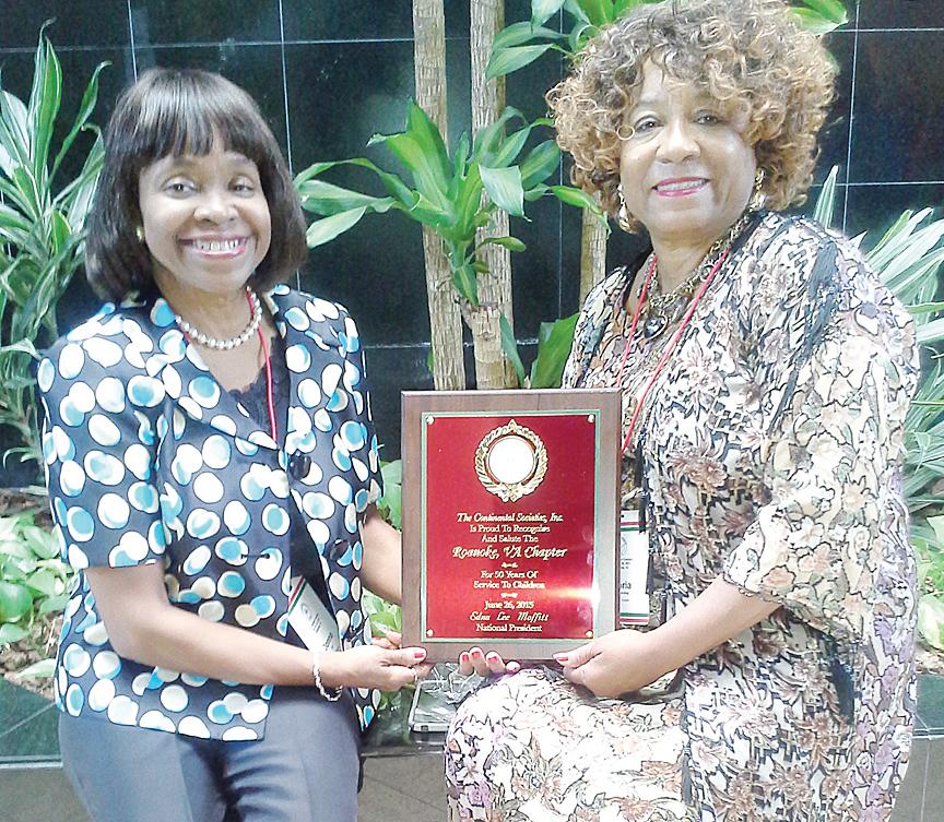 Donna Lee (left) and Gloria Randolph-King.