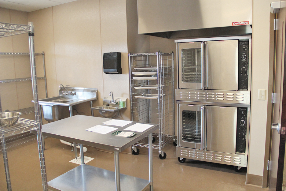 The Kitchen fully equipped with state-of-the-art appliances ready for business.